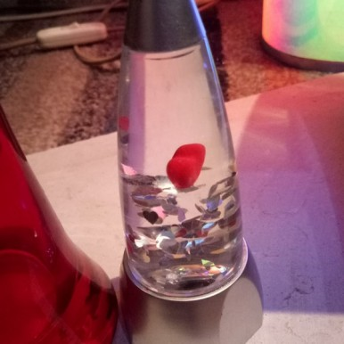 Decoration Bottle with Heart Inside - Gift Item