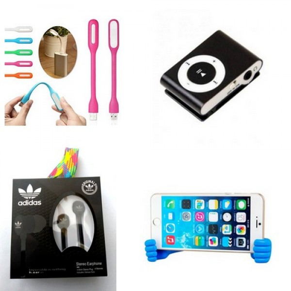 Pack of 04 Mobile Accessories