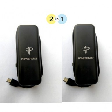 Pack of 02 Power Met Charger