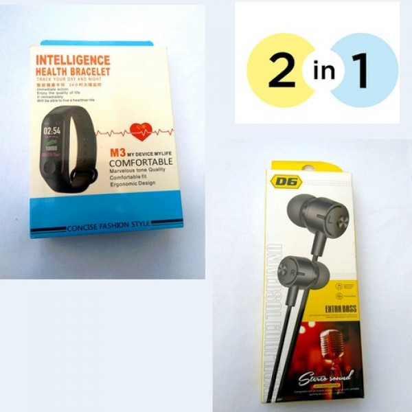 Pack of 02 Bracelet and Handfree