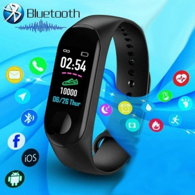 M3 Smart Watch Fitness Band