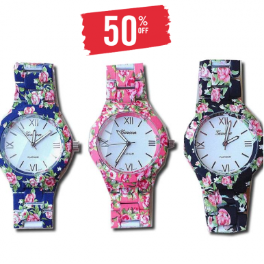 Set of 03 - Fashion Deal For Her - Watch - Cigarette Pant + Shrug