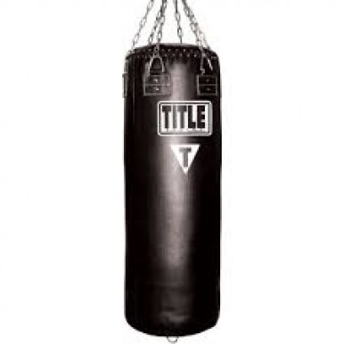 heavy weight strong Boxing Bag With Chain - 4ft - Black