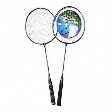 Pair of Badminton Racket with Cover