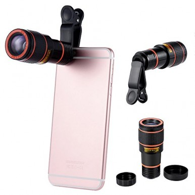 BUY 1 GET 1 FREE 8X MOBILE CAMERA LENS WITH 3110 TRIPOD