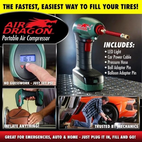 Powerful Air Dragon Portable Air Compressor