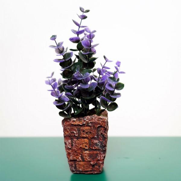 Living Room Fake Flower Pot Plants