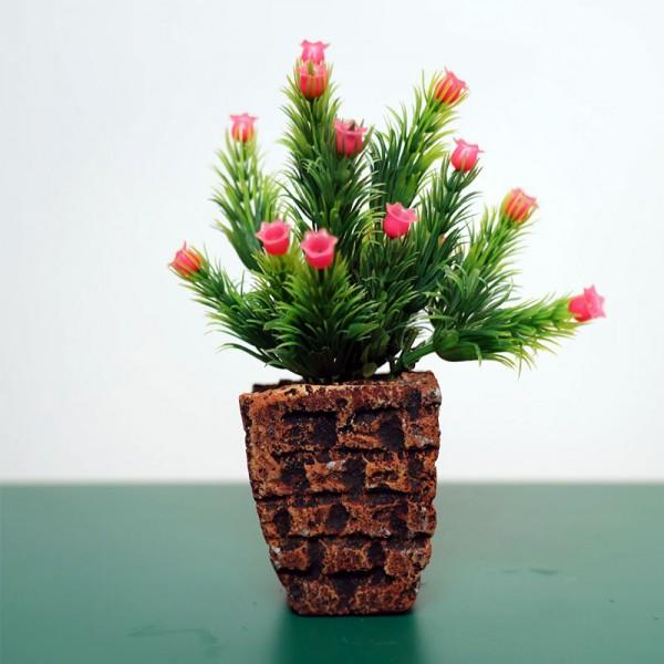 Decoration Delicate Designed Artificial Flower Pot Plants