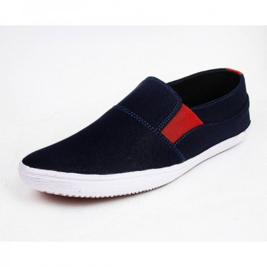 Mens Blue Red Stylish Sneaker