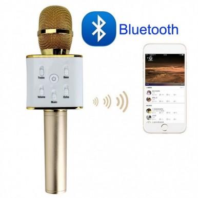 Wireless Bluetooth Handheld Microphone Mic Speaker For Phone - Karaoke Microphone