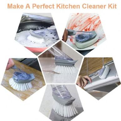 Advanced Soap Control Dishwand Brush