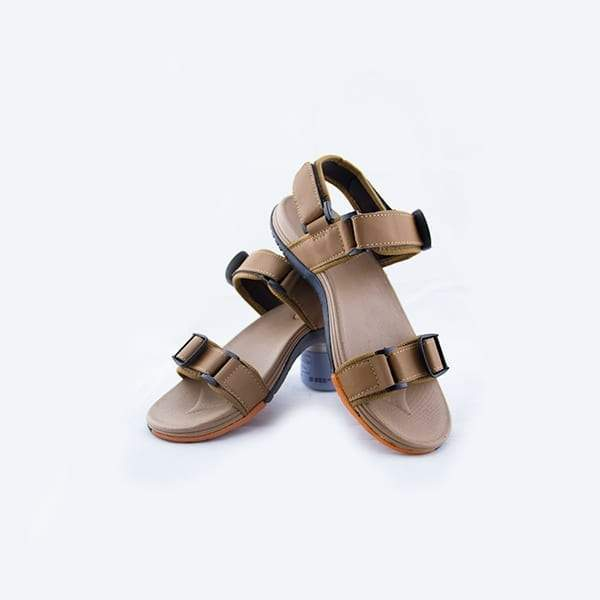 Creamy brown Casual Kito Sandal For Mens