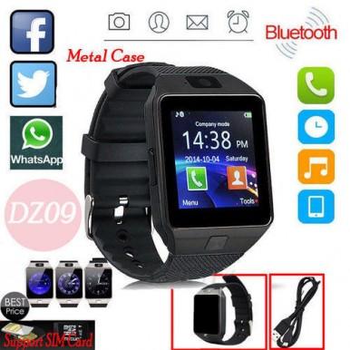 Universal DZ-09 HD Bluetooth Smart Wrist Watch Phone SIM Card Mate Android Phone