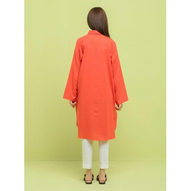 Eid Sale Offer Coral Long Shirt And Butterfly Slippers