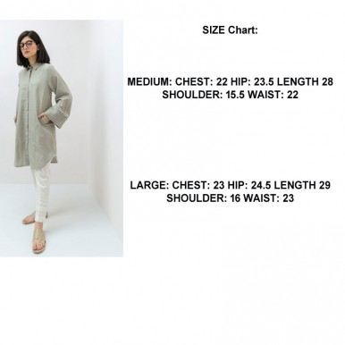 EID Special Offer Grey Basic Open Shirt And Fancy Thumb Flat Low Heel Slipper