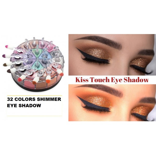 Kiss Touch Makeup Style Magic Colour Shimmer Eyeshadow