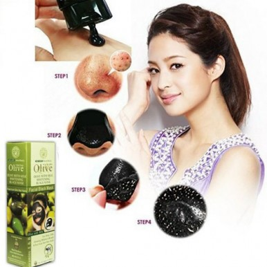 Facial Black Mask Olive With Milk Whitening