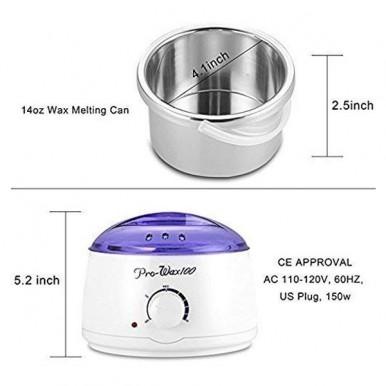Original Prowax Professional Hair Removal Wax Heater & Wax Warmer Machine 100 Watts