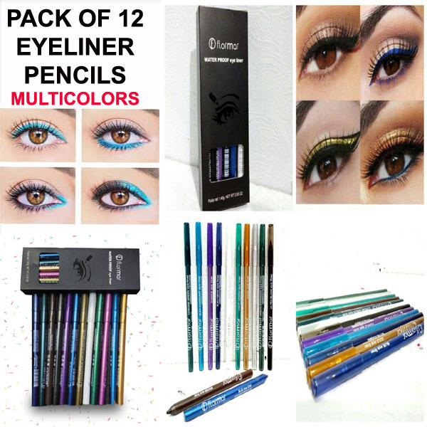 Eyeliner Pencil in 12 Blushing Colors