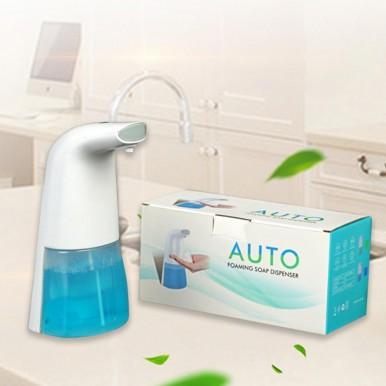 Soap Dispenser Automatic Sensor Soap Sanitizer Dispenser Touchless Battery Operated Adjustable Soap Dispenser for Bathroom