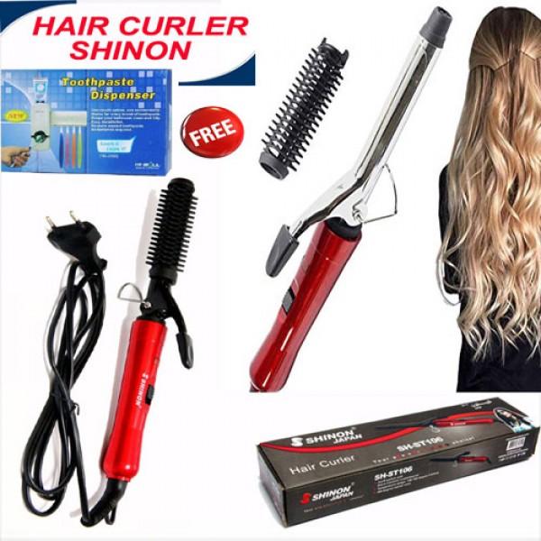 HAIR CURLER DEAL OFFER SHINON RED
