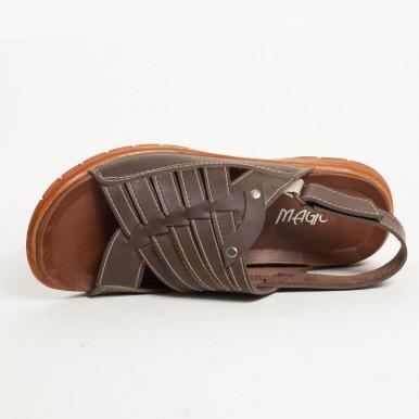 Stylish Design Brown Sandal Shoes For Men
