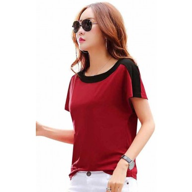 Summer Collection Regular Red Color FIT TOP And Slim Fit Jeans