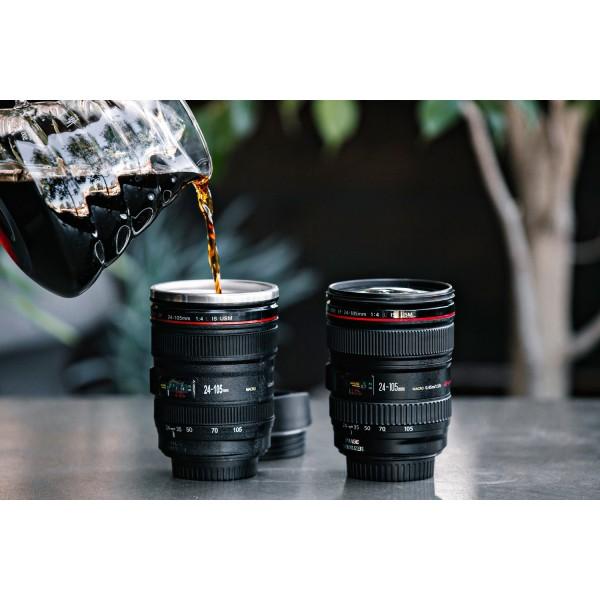 Travel Camera Lens Coffee Mug - Lens Cup