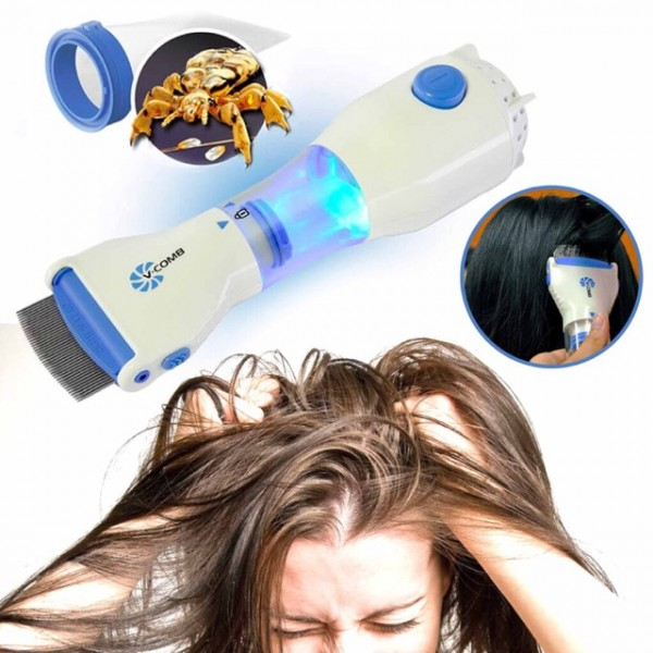 V Comb Electronic Head Lice Removal Machine Anti Lice Machine V - comb Head Lice Electronic Head Lice Remover
