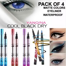 36 H waterproof liquid eyeliner 4 colors Cosmetic Pen long-lasting