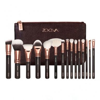 ZOGVA 15 PCS Brushes Makeup Cosmetics Tool Kit