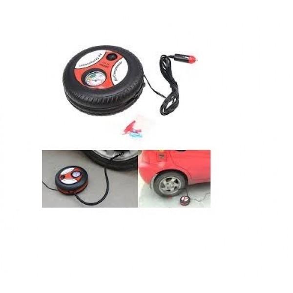 Tyre Shape 12V Mini Air Compressor Auto Car Electric Tire Air Inflator Pump