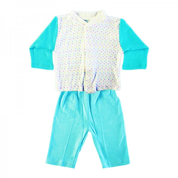 Deluxe Pajama Suit - Blue 3-6 Months