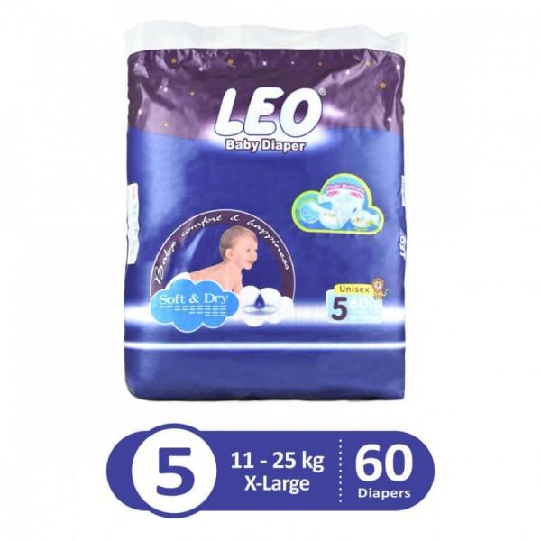 Leo Blue mega pack xlarge sixe 5 60pcs LHB4