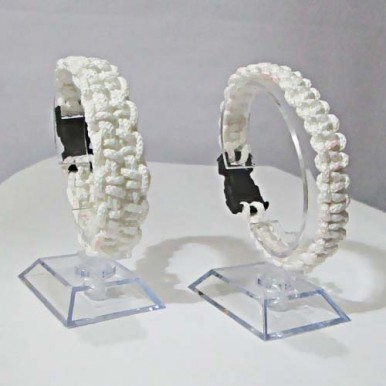 Friend Ship Band, White color, LHB79, Two Different Design(10 CM)