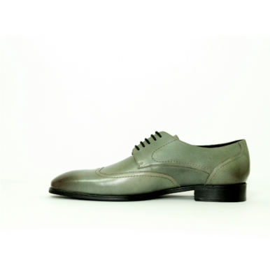 Mens Formal Shoes by Baldon Shoes - Randy - Grey
