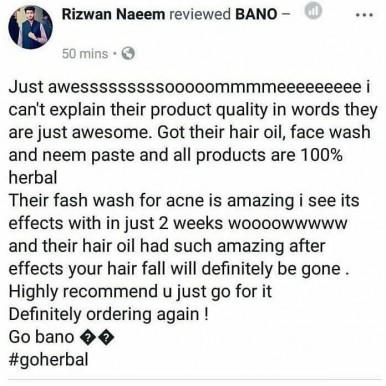 BANO Tonic Hair Oil for Hair Growth