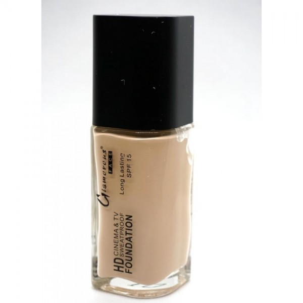 Glamorous face HD Foundation Pump - Sweat Proof Shade