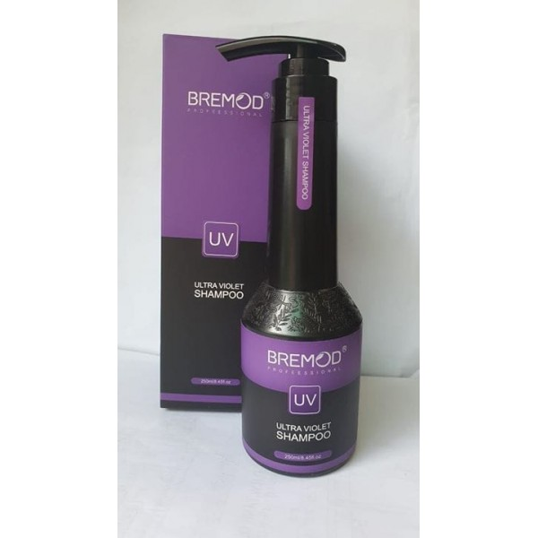 Bremod Ultra Violet Shampoo (To Achieve Ash Color)