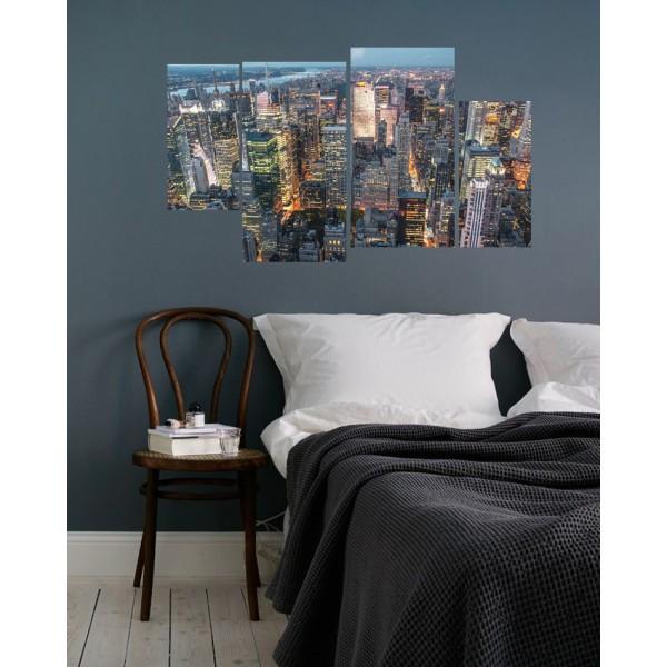 4 Pieces Wall Canvas Frames BND-1131