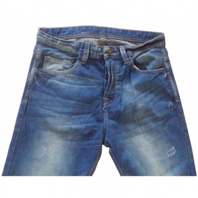 Beebrug Denim Jeans for Men in Classic Blue Colour