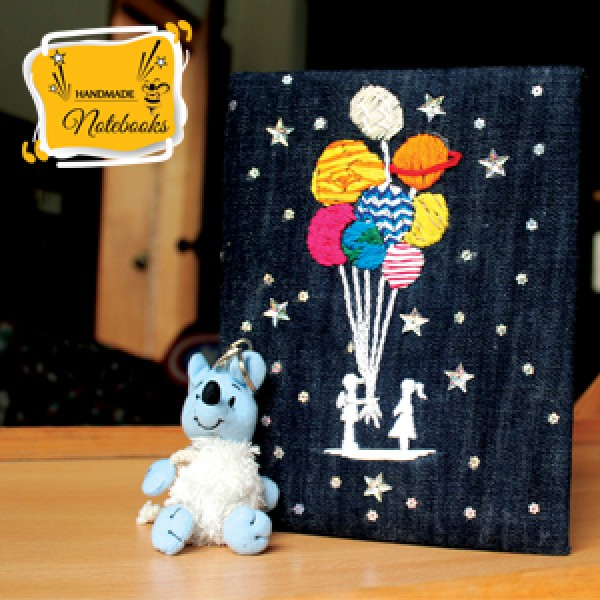 handmade notebook - Sharing the Universe with You