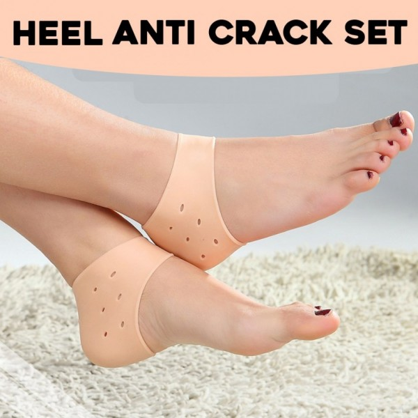 Heel Anti Crack Sets - save your heels from cracking