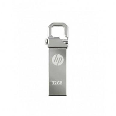 32GB - USB FLASH DRIVE - SILVER METALIC PENDRIVE