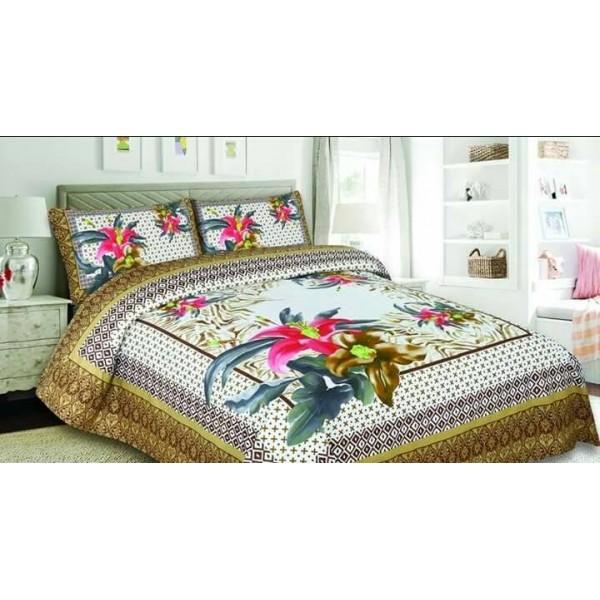 Multicolor Cotton vintage bedding Bed sheet FB-1154