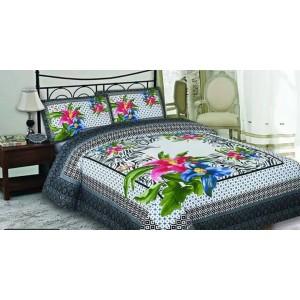 Multicolor Cotton vintage bedding Bed sheet FB-1155