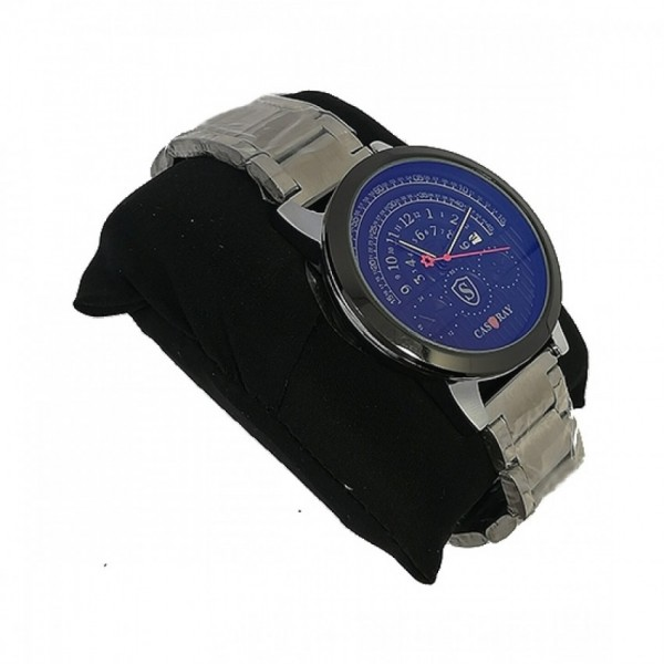 Get Online Analog Watch For Men Silver (0041)