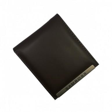 Get Online Leather Wallet For Men Black (0030)