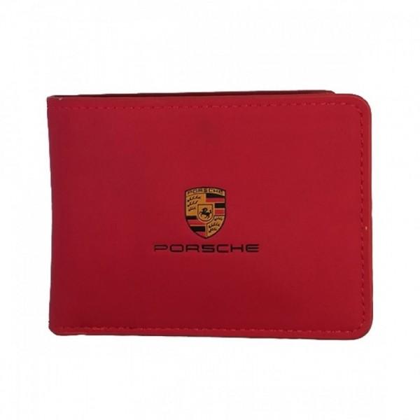 Get Online Porsche Logo Wallet For Men (0033)
