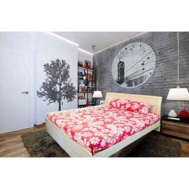 Floral Design Bedsheet